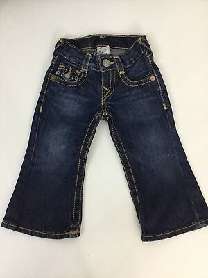 True Religion Boys Jeans, Size Age 2 Years, Dark Denim Blue, Vgc