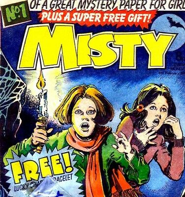 Misty & Spellbound - Vintage UK Comics on DVD with reading software