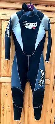 Full Length 7mm Cressi Lady Wetsuit