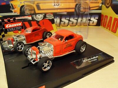 Carrera 27334 - 32' Ford Hot Rod 'Fire Engine' - Brand new in Box.