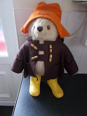 Vintage Gabrielle Designs 1972 Paddington Bear 18""