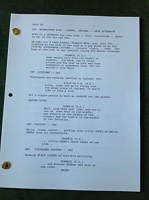 The Middle TV Show Pilot Script. Patricia Heaton, Neil Flynn, Great Keepsake.