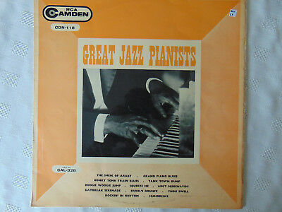 Great Jazz Pianists - RCA Camden Records 1959