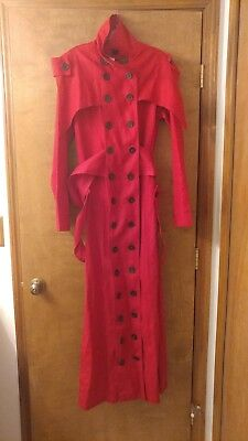 Trigun Vash The Stampede Coat & More! NEW W/TAGS Great For HALLOWEEN or COSPLAY