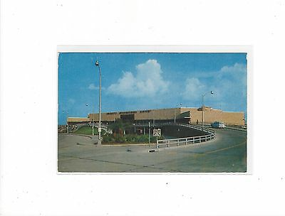 front view of Houston TX international airport postcard