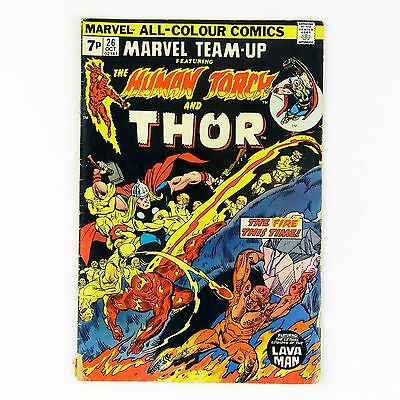 Marvel Team-Up #26 -- featuring Thor (GD/VG | 3.0, pence)