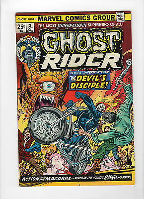 Ghost Rider #8 (Oct 1974, Marvel) - Very Fine/Near Mint