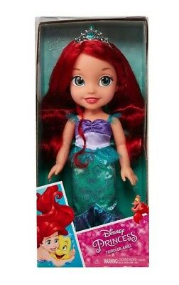 "Disney Princess Ariel Toddler Doll 15"" Little Mermaid"