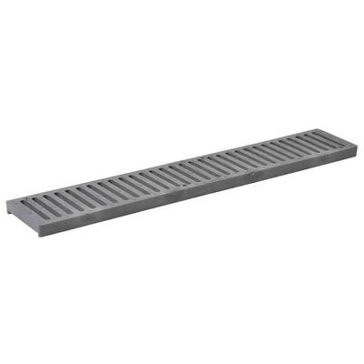 """NDS 241 Spee-D Channel Drain Grate, 24""""X4-1/8"""", Gray"""