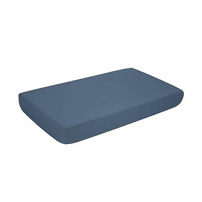 """Microfiber Fitted Crib Sheet with Elastic 28""""x52""""   Silky Soft Cozy Hypoaller..."""