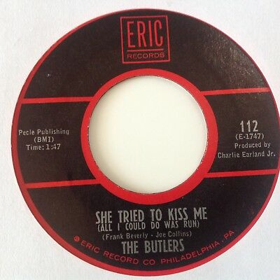 Butlers - She Tried To Kiss Me / The Sun's Message - Eric 112. Ex