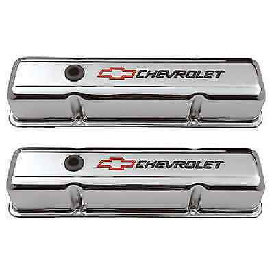 141-905  -  Proform Heavy Duty Stamped Steel Rocker Covers Chev 327 350 SBC