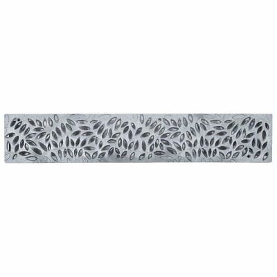"""NDS 252GY Spee-D Channel Grate, 4"""" x 2'"""