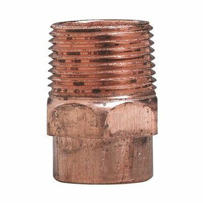 """Elkhart 30378 Male Pipe Thread Wrot Copper Adapter 2"""""""