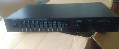 Vintage yamaha ge-5 graphic eq with spatial expander