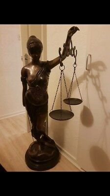 4ft Statue Of Justice Very Very Heavy