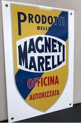 Magneti Marelli Oil Gas Lamborghini Ferrari ItalianRacing  Oils Garage Sign