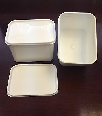 Food Container 4 Litre Plastic Ice Cream Container/food Storage With Lids X 20