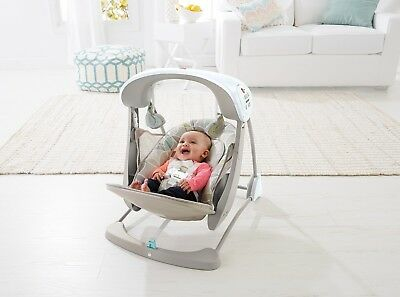Swing Baby Infant Fisher-Price Deluxe Take Along Swing and Seat,6 Speed Portable