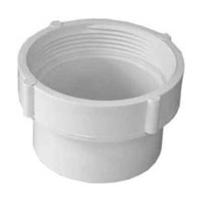 Genova 41629 Sewer & Drain Fitting Cleanout Adapter, 3""