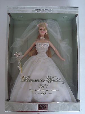 """Barbie Collector Doll """"ROMANTIC WEDDING"""" Second in Series. Gorgeous Near Mint!"""