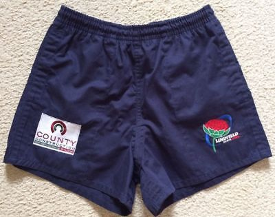 Lindfield Junior Rugby Union Shorts - Mens Size 30 - Cotton - VGC