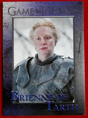 GAME OF THRONES - Season 5 - Card #39 - BRIENNE OF TARTH - Rittenhouse 2016