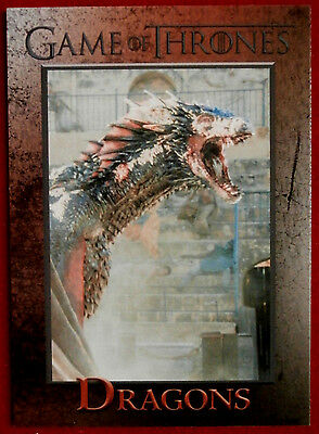 GAME OF THRONES - Season 5 - Card #49 - DRAGONS - Rittenhouse 2016