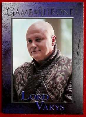 GAME OF THRONES - Season 5 - Card #42 - LORD VARYS - Rittenhouse 2016