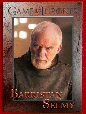 GAME OF THRONES - Season 5 - Card #52 - BARRISTAN SELMY - Rittenhouse 2016