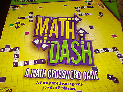Learning Resources Math Dash Game Brand New SEALED