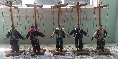 Nsync No Strings Attached On Tour 2000 Collectors Edition Marionette Dolls Set