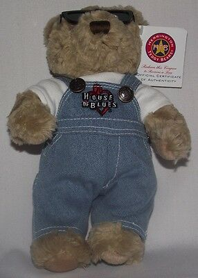 Herrington Teddy Bears House of Blues Bear Limited Edition Certificate New Tags