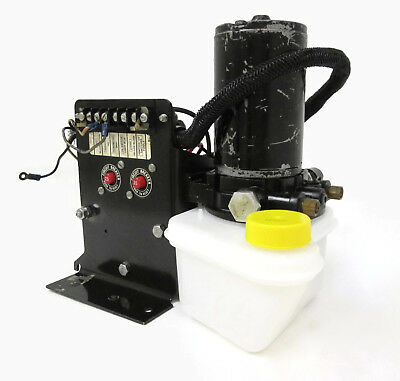 Force L-Drive Trim Pump Assembly with Bracket Relays Wiring F722541 F695371-2