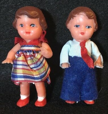 Vintage Doll Made in East Germany ~ Jointed Rubber ~ Custom Costumes - ARI ?