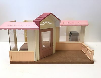Calico Critters Sylvanian Families Forest RARE Japanese Stylish Cake Shop