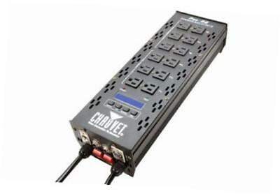 pro d6 6-channel dmx-512 dual 20a power dimmer switch relay pack