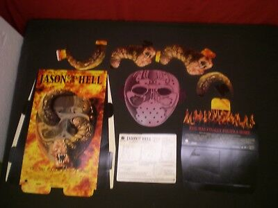 JASON GOES TO HELL  THE FINAL FRIDAY  Orig Promo MOVIE STANDEE DISPLAY NEW 1993