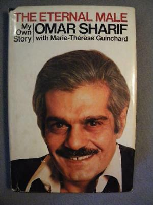 """Movie Actor Omar Sharif Autographed Signed Book """"the Eternal Male"""""""