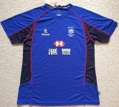 NWT Hong Kong Rugby Union Training Shirt Jersey - Mens 2XL - Kukri
