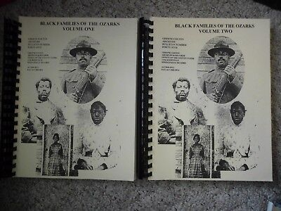 Black Families of the Ozarks (Two Volumes)