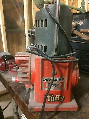 Devilbiss Tuffy Ncf-501 Pump Tested Good Working Condition