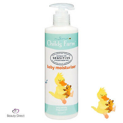 Childs Farm Baby Moisturiser 250ml eczema prone skin.