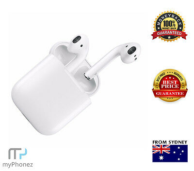 Apple AirPods 2nd Generation with Wireless Charging Case  MRXJ2ZA/A AU Stock