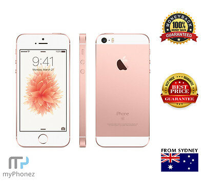 Apple iPhone SE 16GB 4G Silver Rose Gold Grey 4G Smartphone Unlocked AU Seller