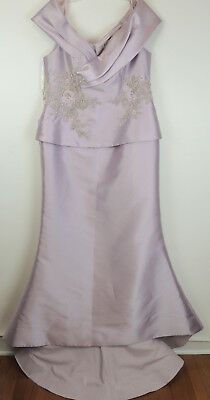 Eleni Elias Womens 18 Rhinestone Mother Of The Bride Couture Gown NEW $495.00