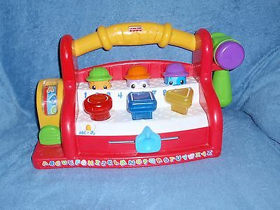 Fisher Price LAUGH & LEARN TOOL BENCH