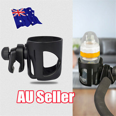 Baby Stroller Pram Cup Holder Universal Bottle Drink Water Coffee Bike Bag EA
