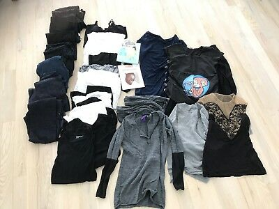 Lot of 36 pcs Motherhood Maternity And Other Brands. Shirts, Pants, Jeans, Etc..