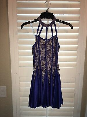 Navy Blue Dance Costume